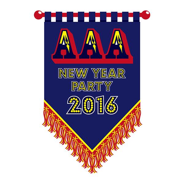 AAA「NEW YEAR PARTY 2016」 LOGO