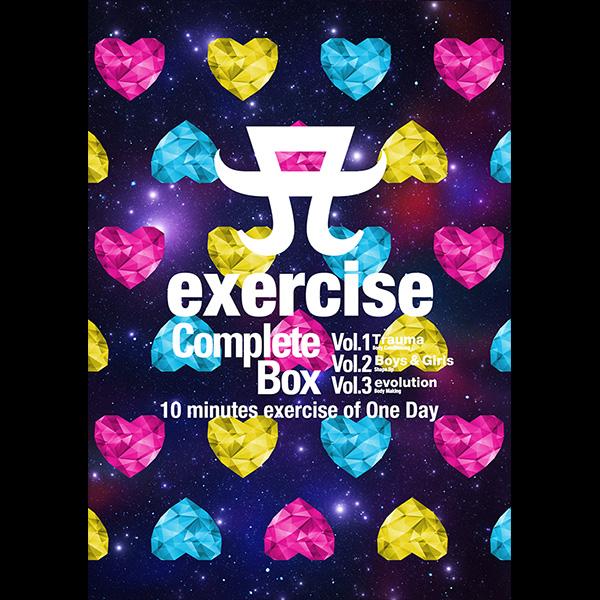 浜崎あゆみ「A exercise Complete Box〈3枚組DVD〉」