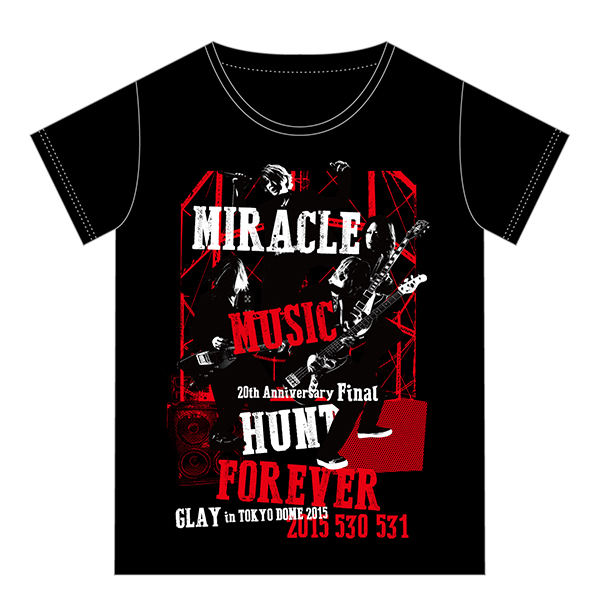 GLAY「GLAY「20th Anniversary Final GLAY in TOKYO DOME 2015 Miracle Music Hunt Forever」GOODS20th Anniversary Final GLAY in TOKYO DOME 2015 Miracle Music Hunt Forever」GOODS